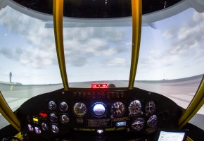 FAA Certified AT802 AirTractor Sim with Projector Visuals